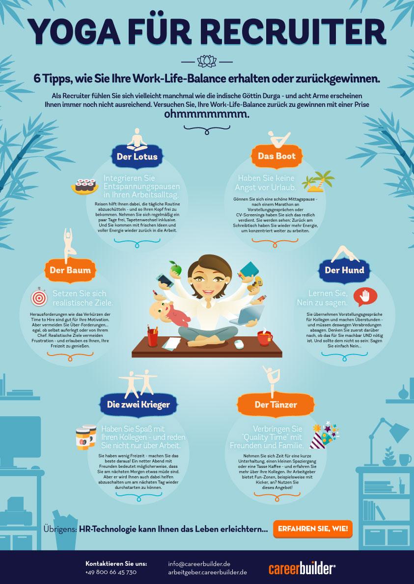 Welt-Yoga-Tag: Entspannt zu mehr Work-Life-Balance