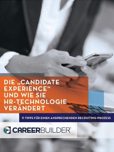 """Die """"Candidate Experience"""" und wie sie HR-Technologie verändert"""