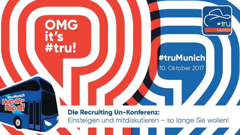 #tru kommt erneut nach München – besuchen Sie uns!