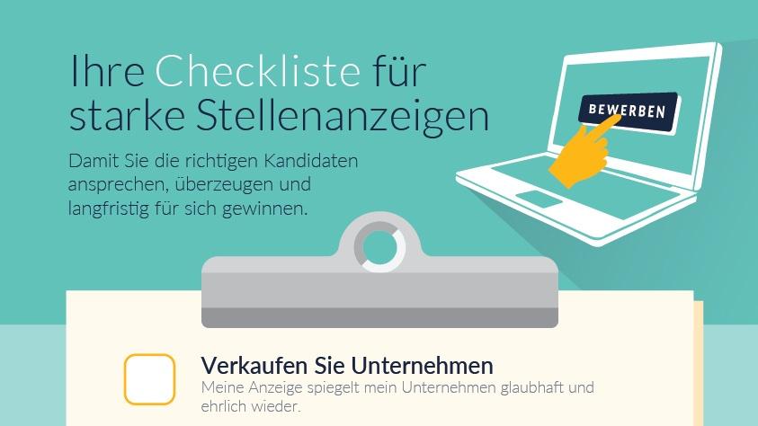 Checkliste: So schreiben Sie Stellenanzeigen, die ankommen