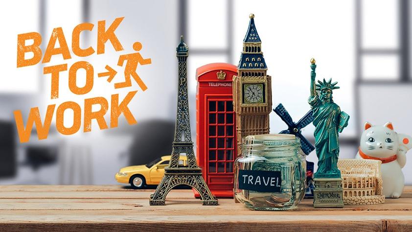 Jobs.de Umfrage & Kampagne: Back to Work - und dann Urlaubsblues?