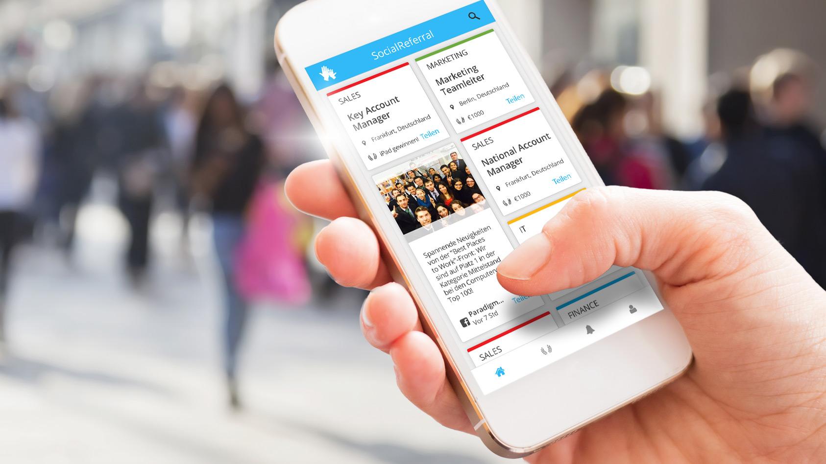 CareerBuilder Webinar: Die berühmten 6 Ecken – oder wie Sie mit SocialReferral Mitarbeiter zu Headhuntern machen