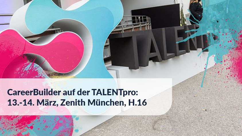 Multi-Channel Recruiting: CareerBuilder auf der TALENTpro