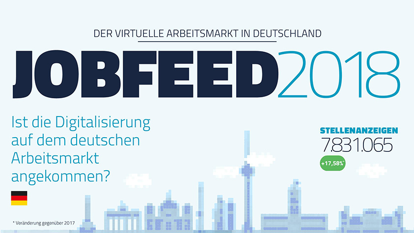 Textkernel Jobfeed Report: Der virtuelle Arbeitsmarkt in Deutschland
